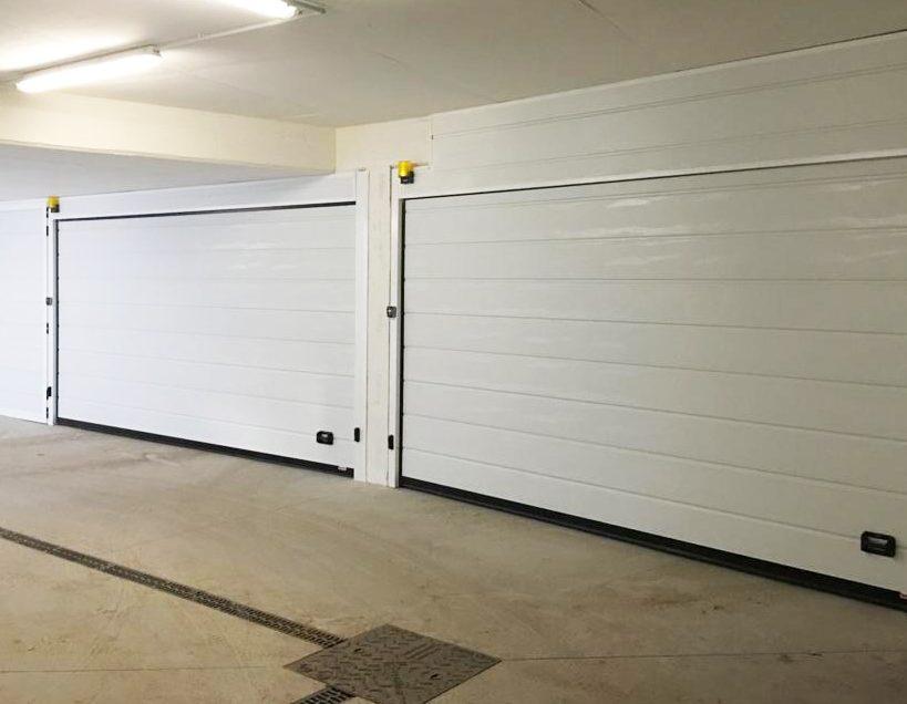 portone sezionale garage automatico