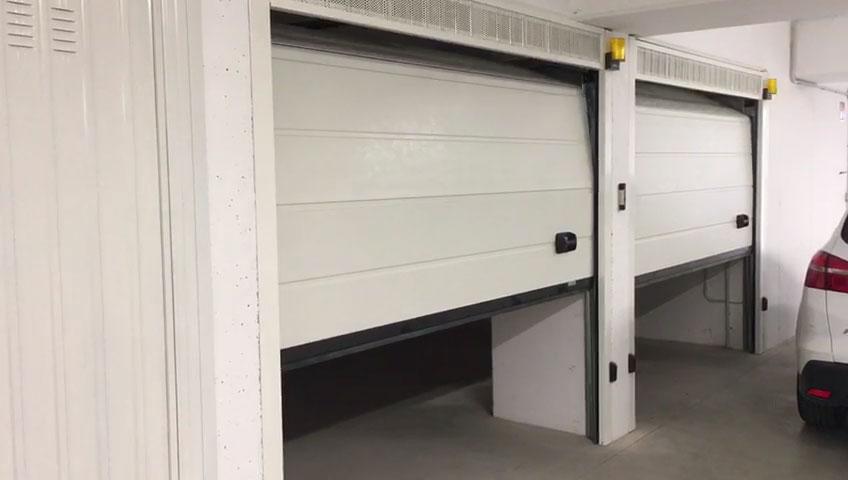 portone garage sezionale automatico